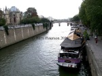 Cruising the Seine, Paris.  We should all do this at least once.