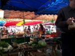 Farmer's Market, Tours.  An extraordinary sensory feast in so many ways.