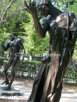 If you ever wondered what the foreground statue looked like naked and headless, wonder no longer.  Rodin Museum, Paris.