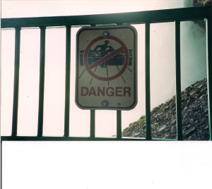 Seen in Canada, at Niagara Falls.