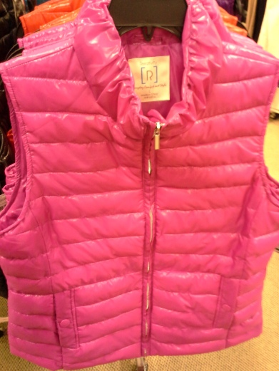 Shiny! Pink! Quilted!  What could be so bad, right..?