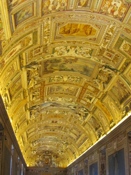 The Map Room, Vatican City.