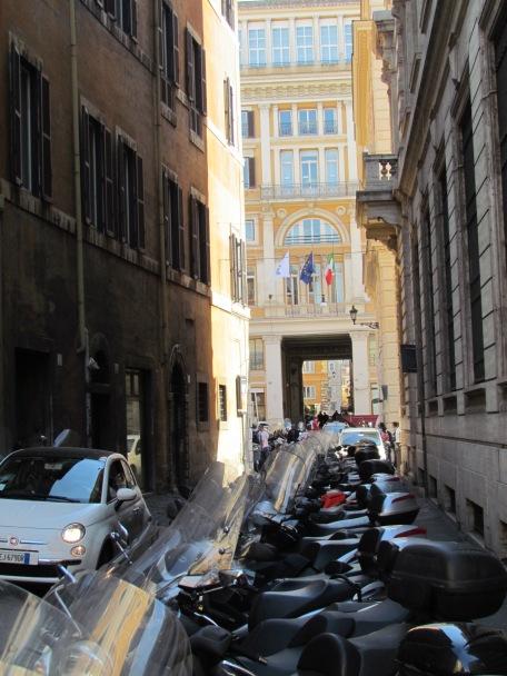 A Roman street.