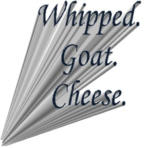 whipped goat cheese