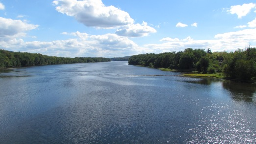 Behold the mighty Susquehanna.