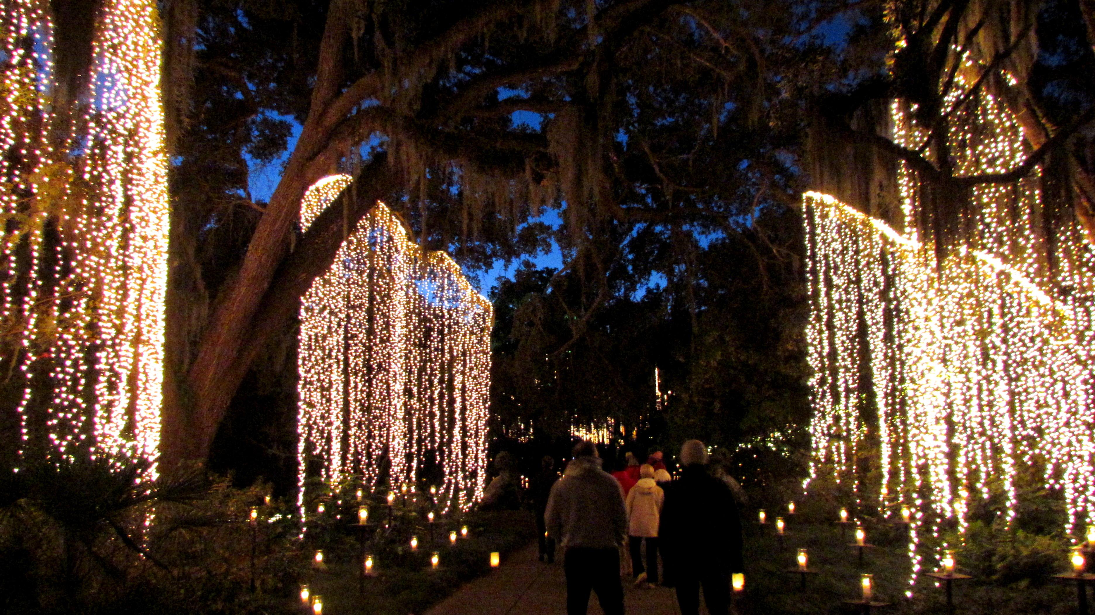 Brookgreen Gardens, Nights Of 1000 Candles, December 2013.