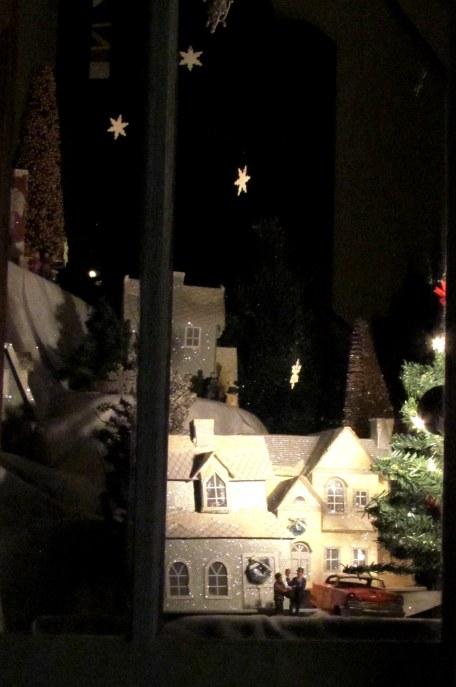 A window diorama, Lewisburg PA, December 2013.