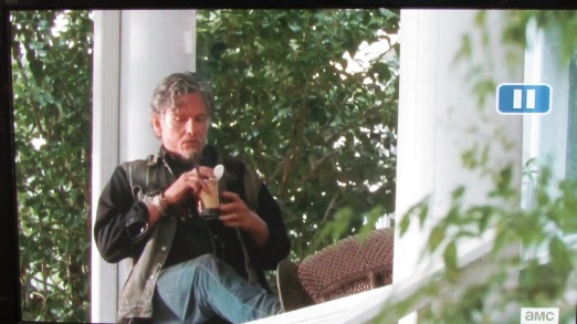 I haven't taken a picture of Rosita because she hasn't done anything yet. But for those playing along, here's that Jeff Kober guy.