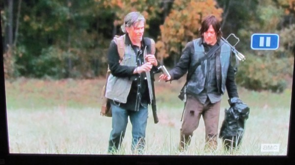 You should have a little drink there, Daryl, and relax. That's right...